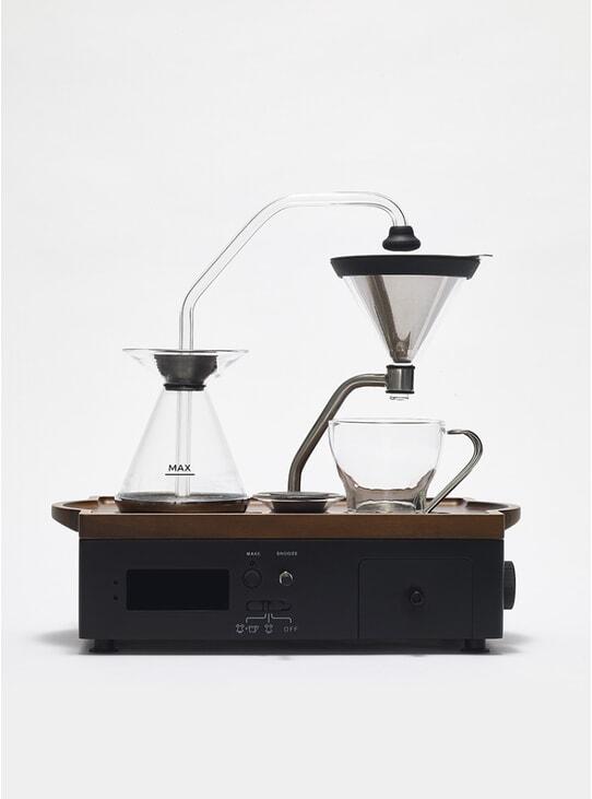 Black Coffee Alarm Clock