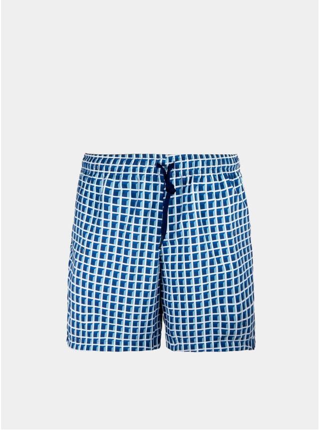 Blue Window Swim Shorts