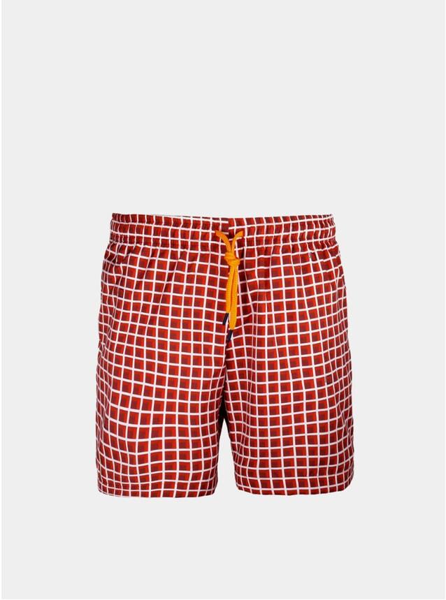 Red Window Swim Shorts