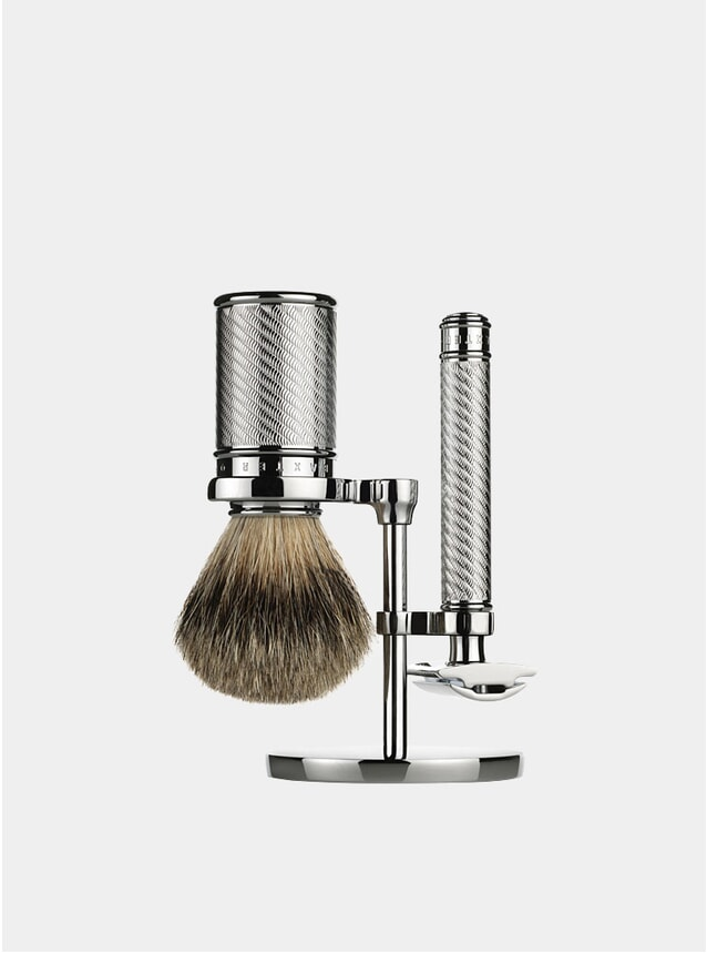 Double Edge Safety Razor Shaving Set