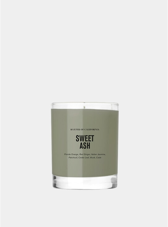 Sweet Ash Scented Candle