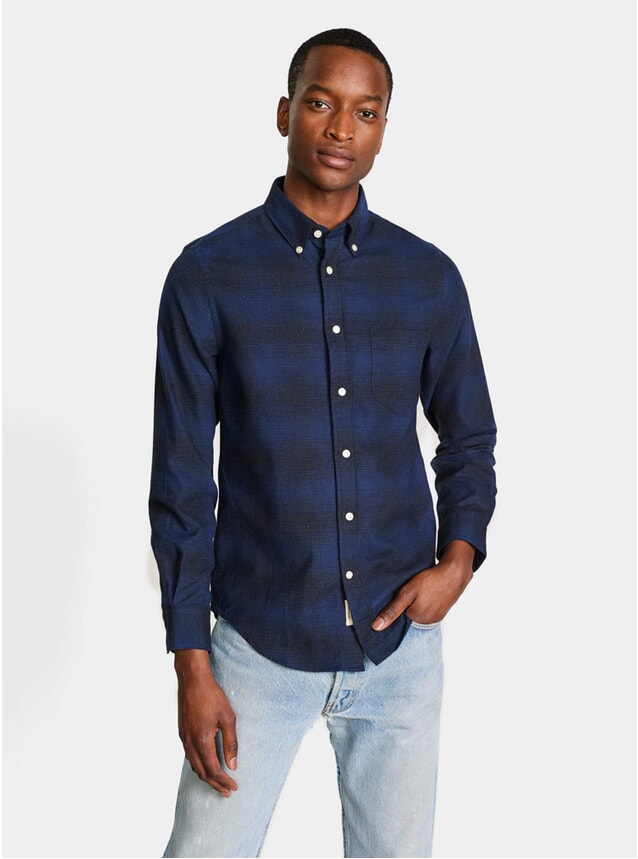 Black / Blue Mire Shirt