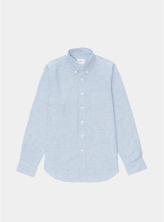 Blue Check Mire Shirt