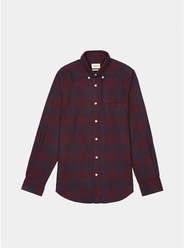 Burgundy / Navy Mire Shirt