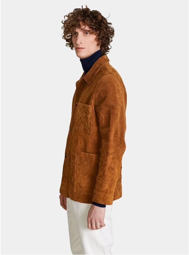 Cognac Dixer Jacket