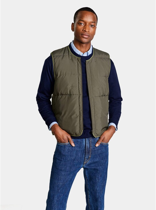 Dark Olive Hoch Bodywarmer Jacket