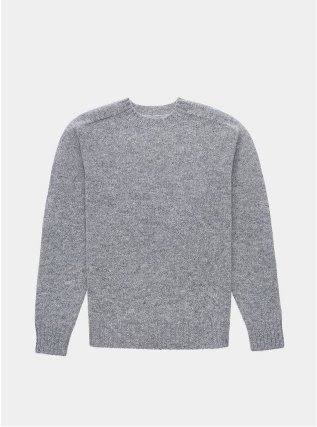 Grey Melange Umash Knitwear