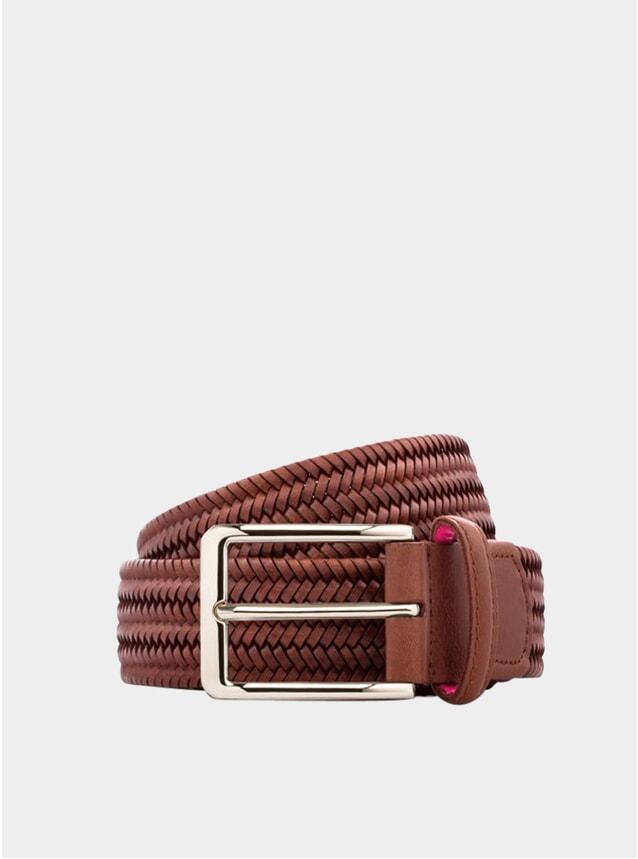 Brown Litmus Leather Belt