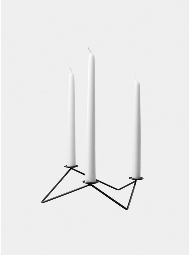 Black Avani Candle Holder