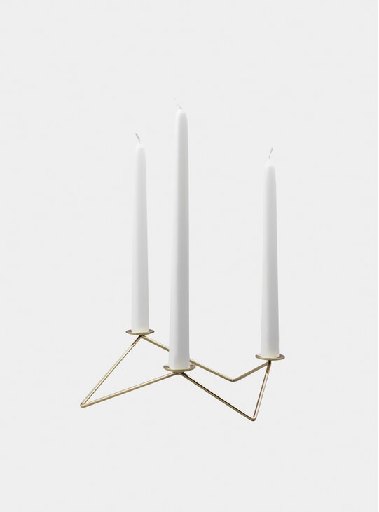 Gold Avani Candle Holder