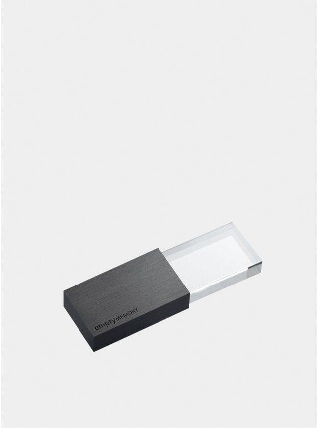 Gun Metal Transparency Memory Stick