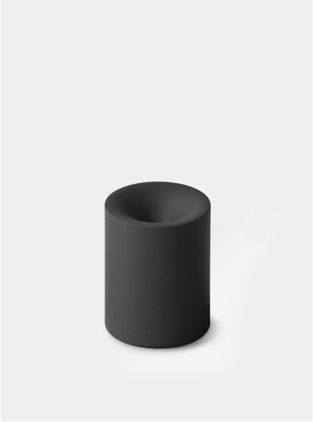Matte Black Funno Pencil Sharpener / Paper Weight
