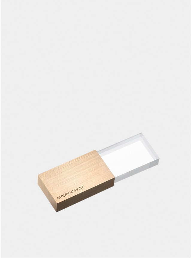 Rose Gold Transparency Memory Stick