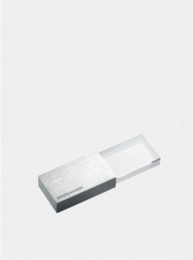 Stainless Steel Transparency Memory Stick