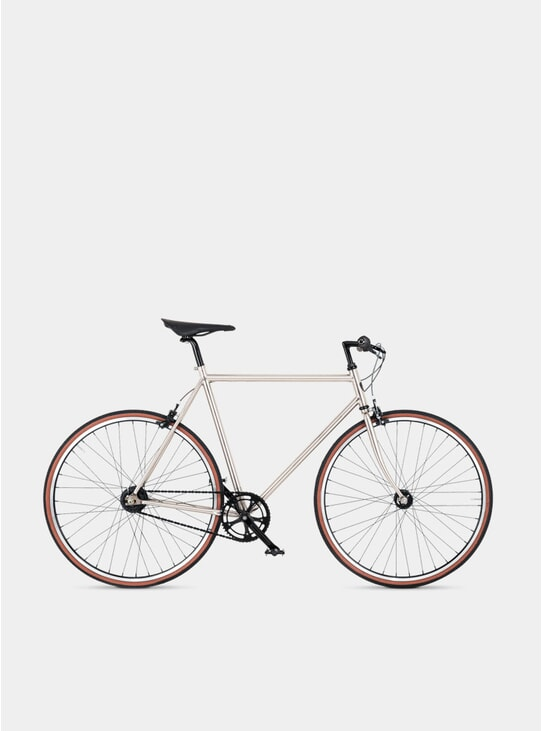 Brushed Nickle Diamond 7 Bicycle