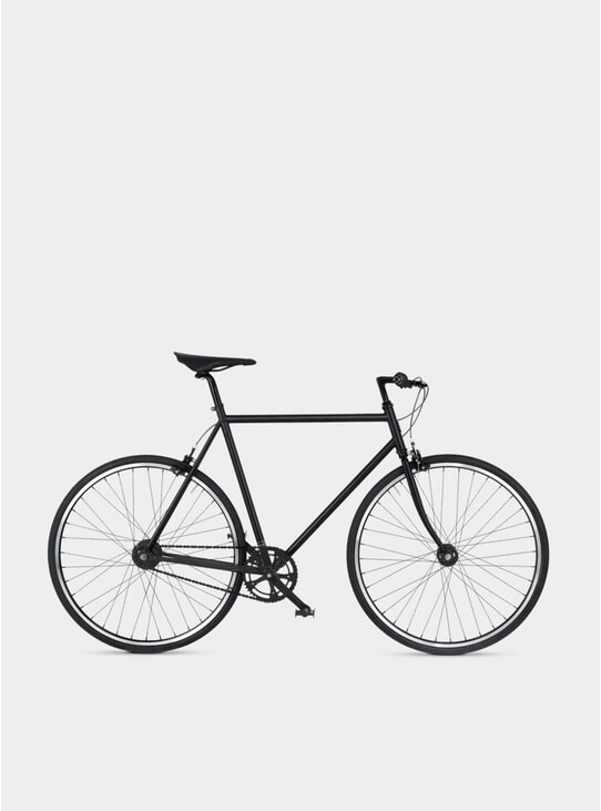 Matte Black Diamond 7 Bicycle