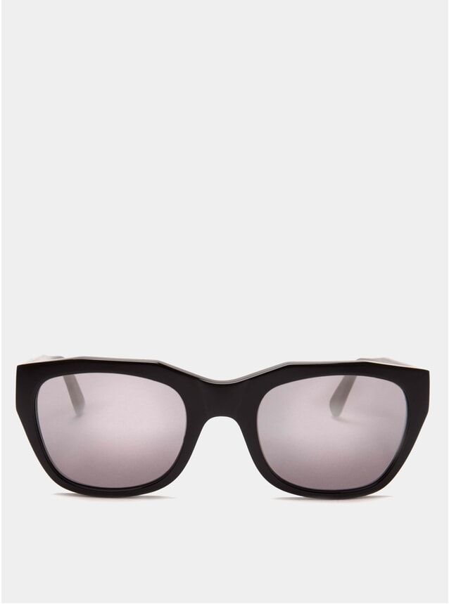 Black / Mirror Gracia Sunglasses