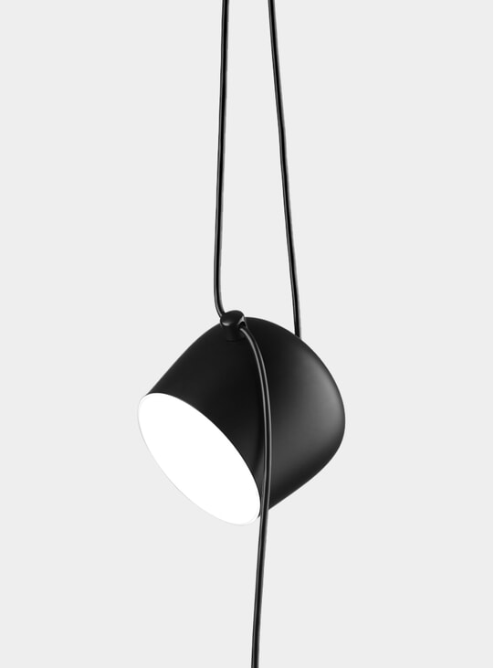 Black Aim Pendant Light