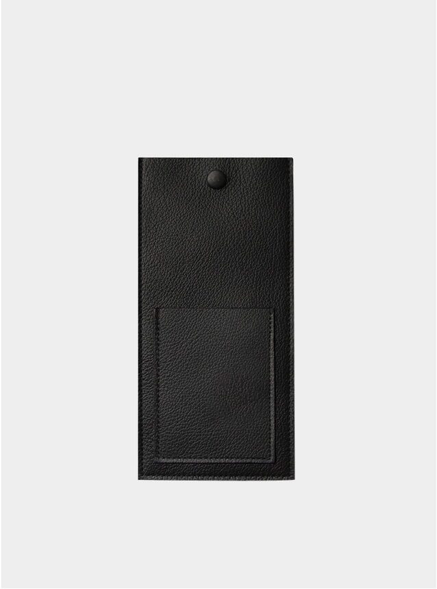 Black Leather No.1 Case