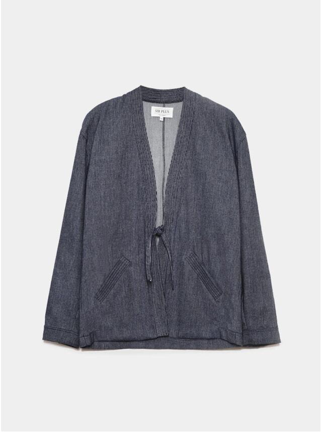 Blue Stripe Noragi Jacket