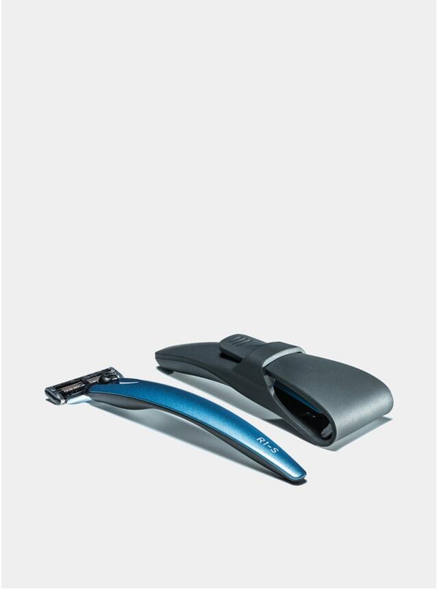 R1-S Blue 3000 Razor & Case