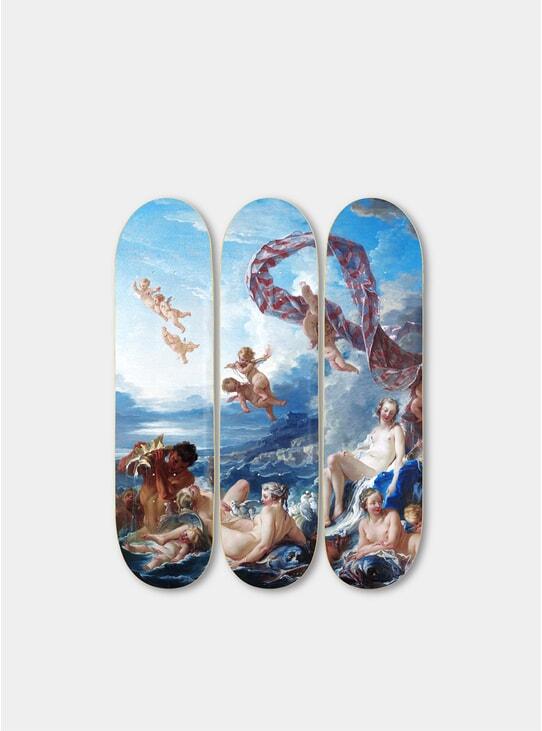 Venus Triptych Skateboards