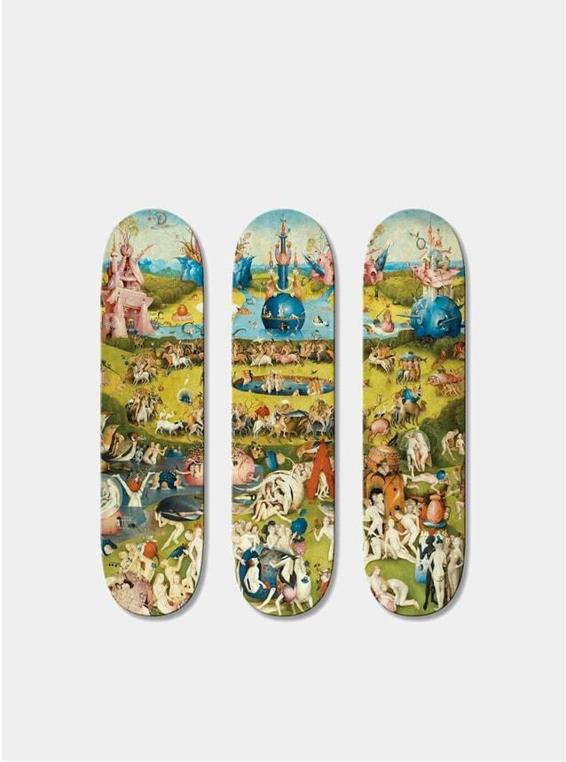 J Bosh Triptych Skateboards