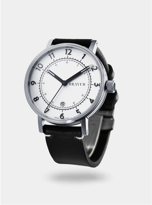 Black / Silver / White BW001 Watch