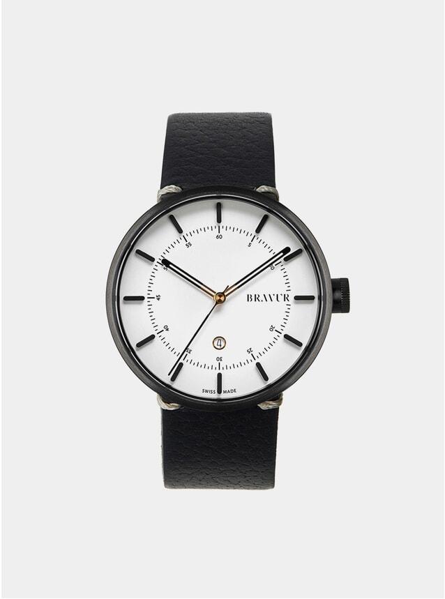 Black / Silver / White BW002 Watch