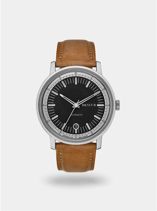 Black / Tan BW003 Watch