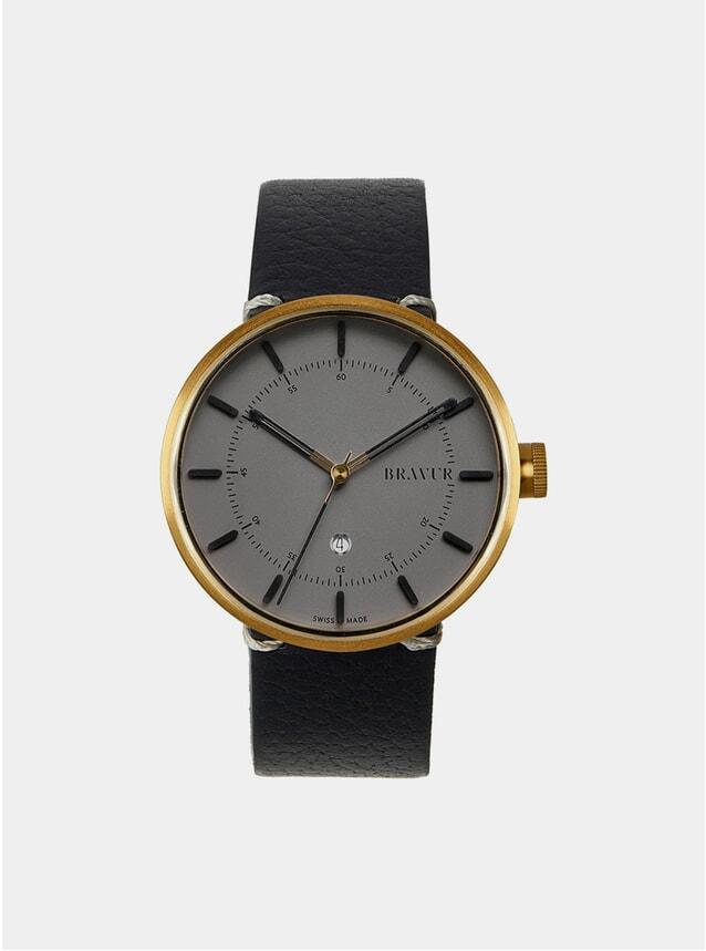 Gold / Grey BW002  Watch