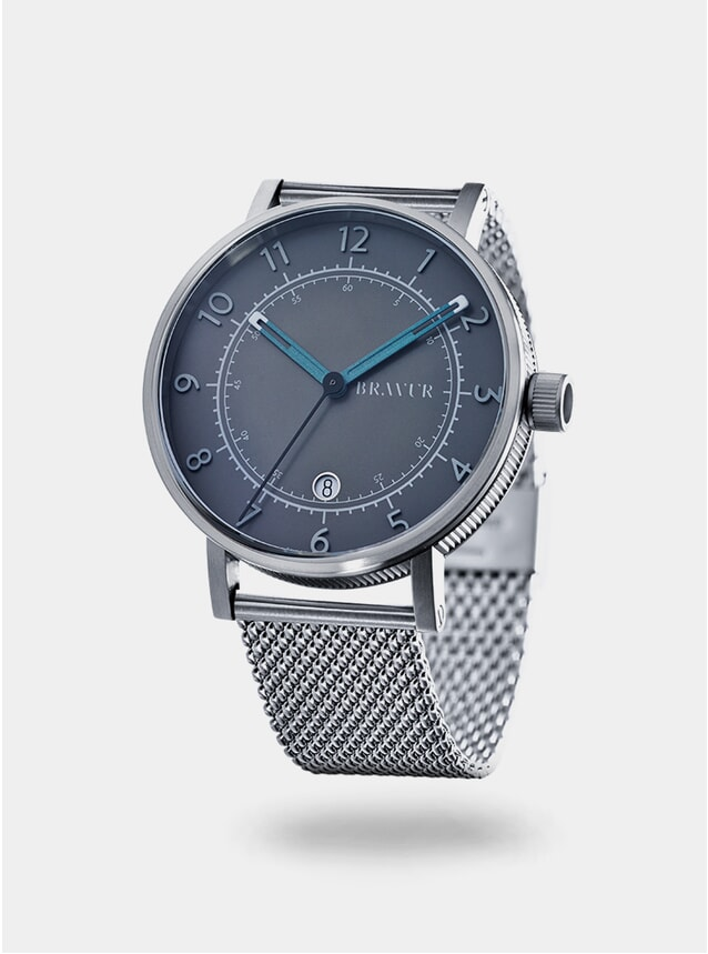 Grey / Silver Milanese BW001 Watch