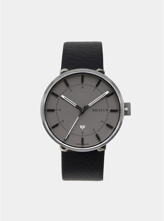 Silver / Grey BW002 Watch