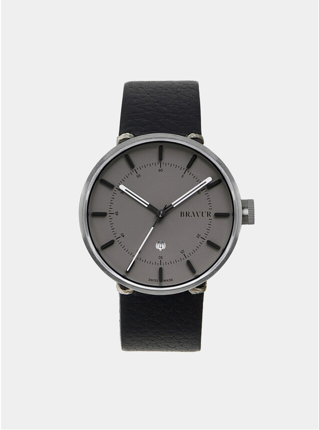 Silver / Grey BW002 Watch