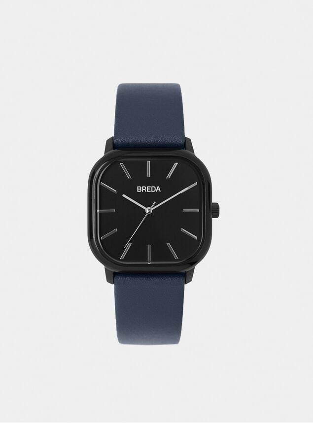 Black / Navy Visser Watch