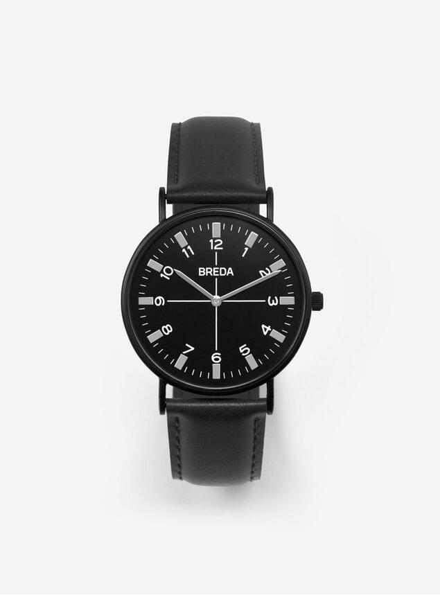 Black Belmont Watch