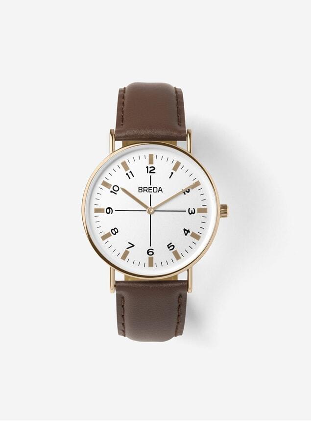 Rose Gold / Brown Belmont Watch