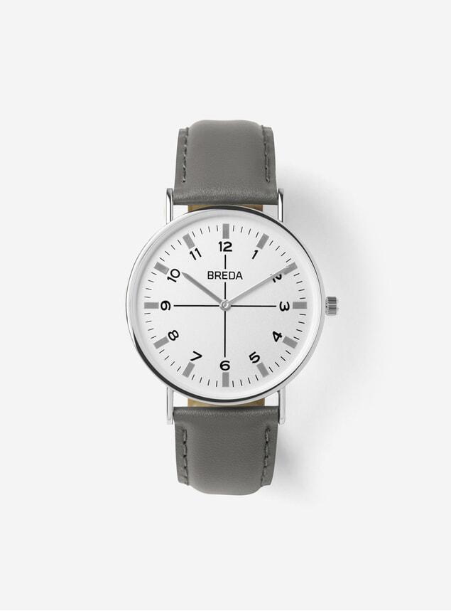 Silver / Grey Belmont Watch