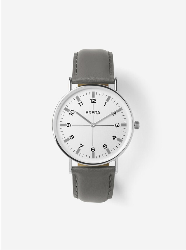 Silver / Grey Belmont Watch