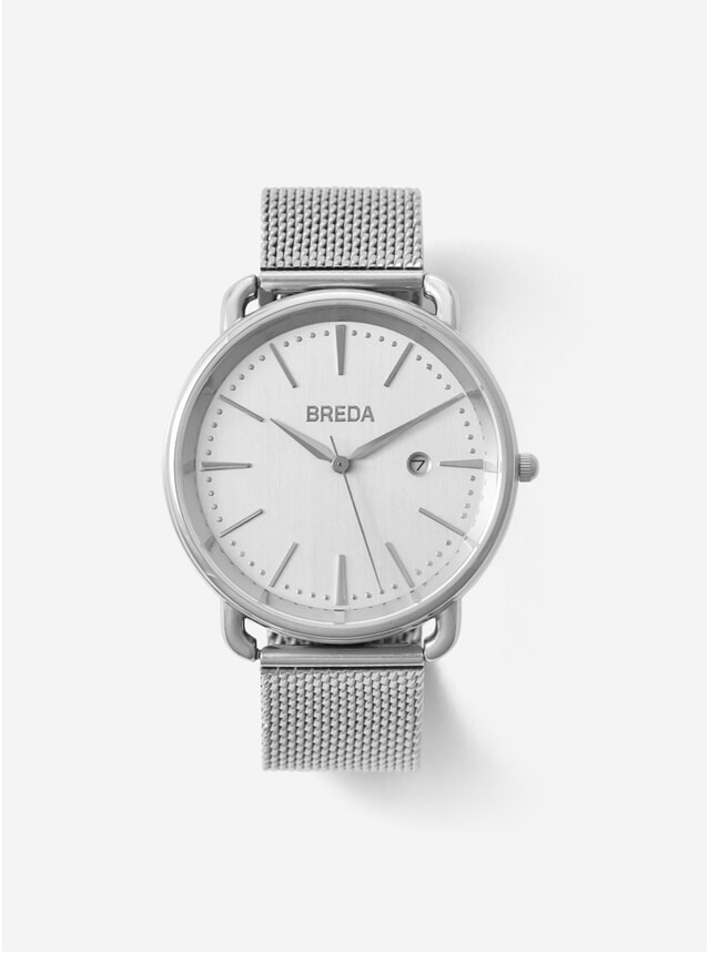 Silver Stainless Steel Linx Watch