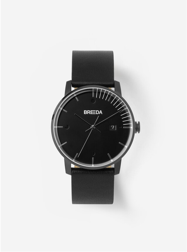 Triple Black Phase Watch