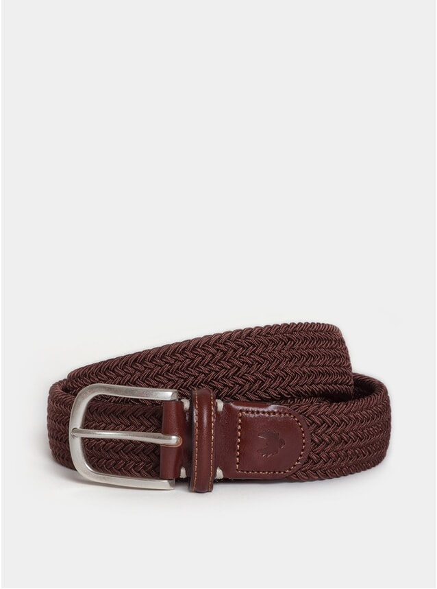 Dark Brown / Dark Brown Leather Maxy Belt