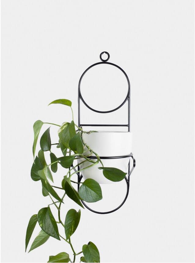 Black Nabu Plant Stand