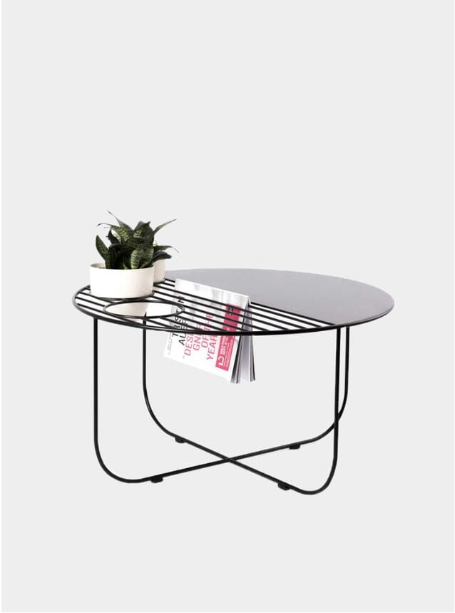 Black Ovio Coffee Table