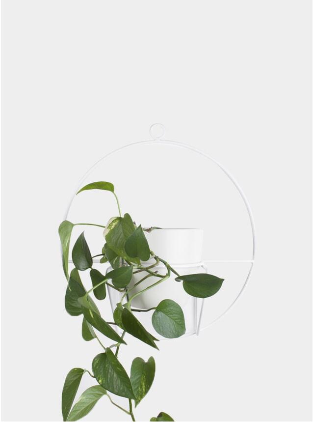 White Luno Plant Stand