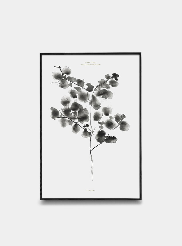 Cotton Plant Print