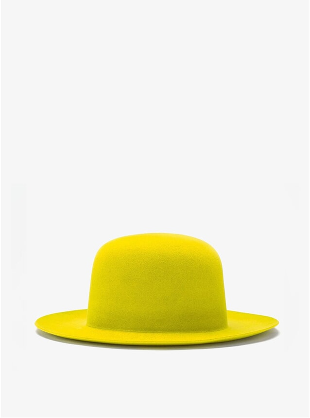 Yellow Shapes Hat