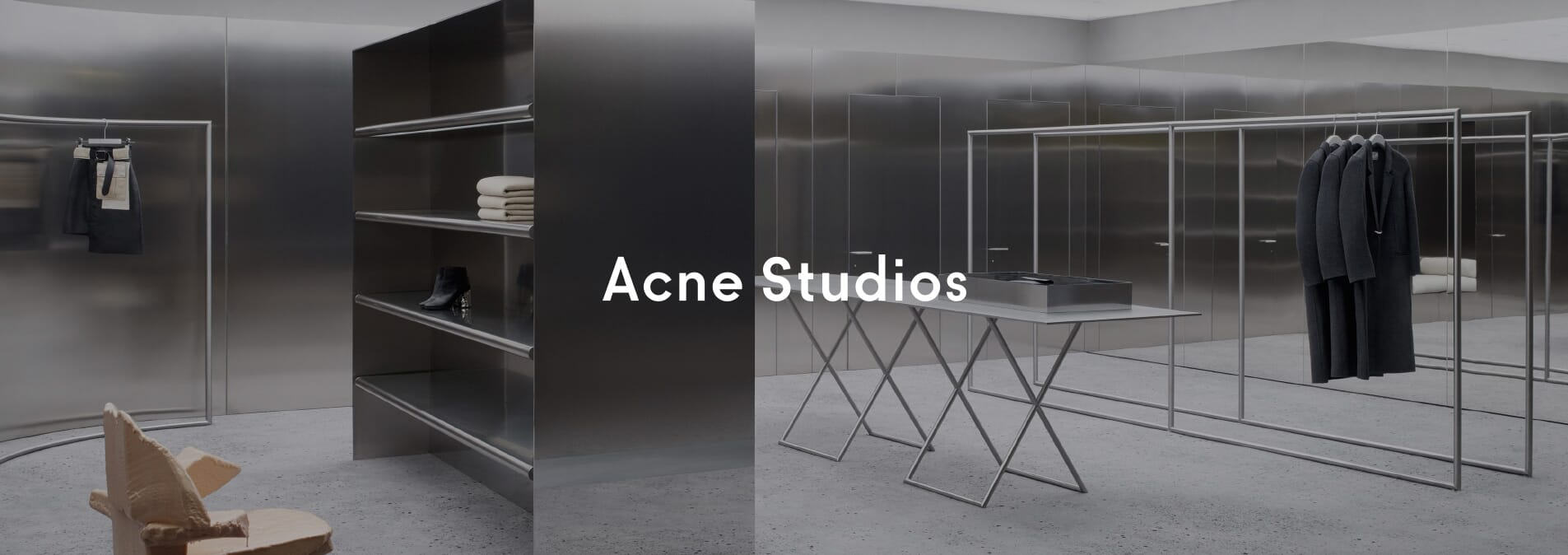 Acne Studios at OPUMO