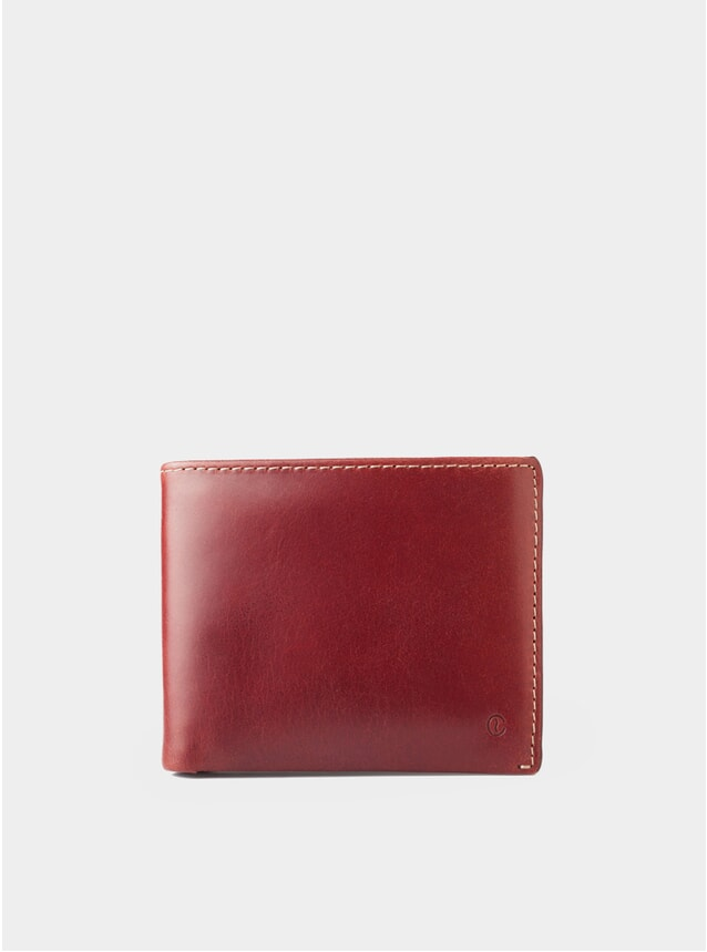 Berry Leather Billfold Agaete Wallet