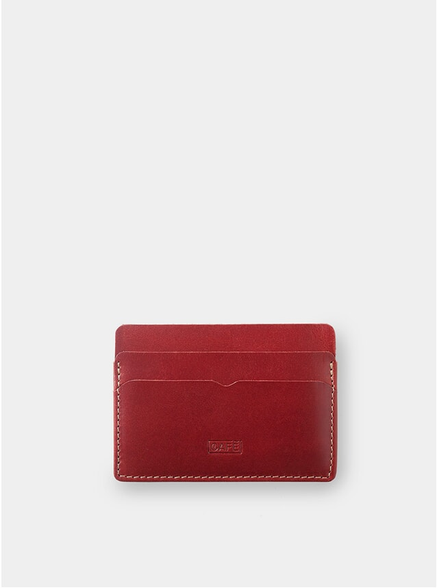 Berry Panama+ Leather Card Holder